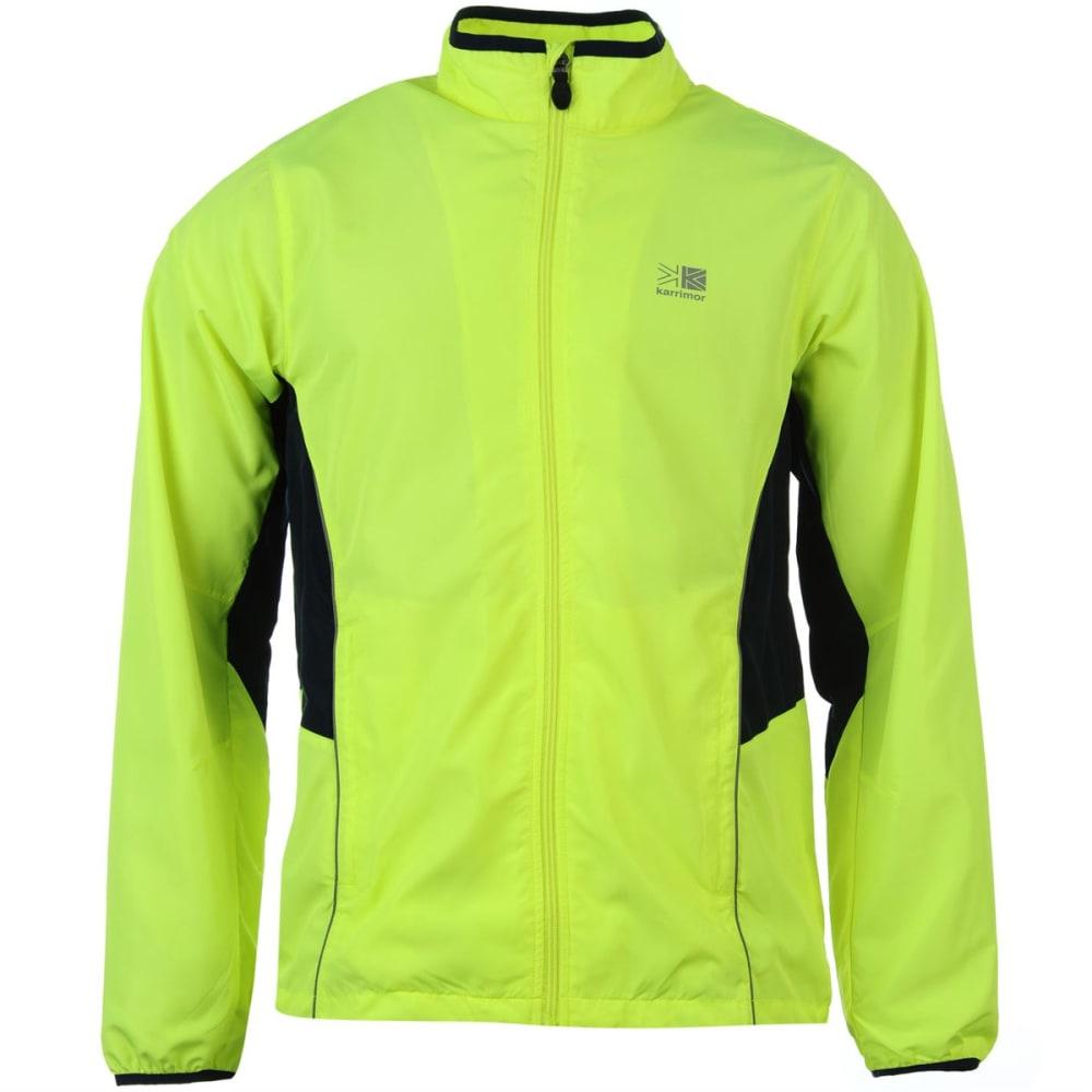 KARRIMOR Kids' Running Jacket - Fluo Yellow