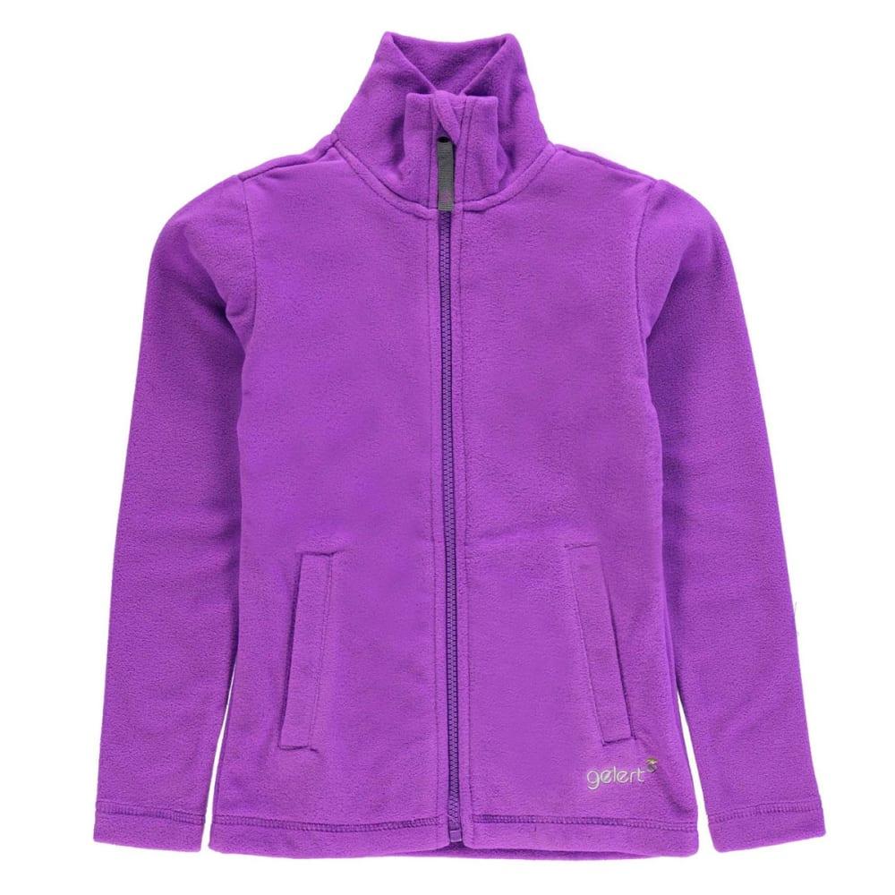 GELERT Girls' Ottawa Fleece Jacket - PURPLE