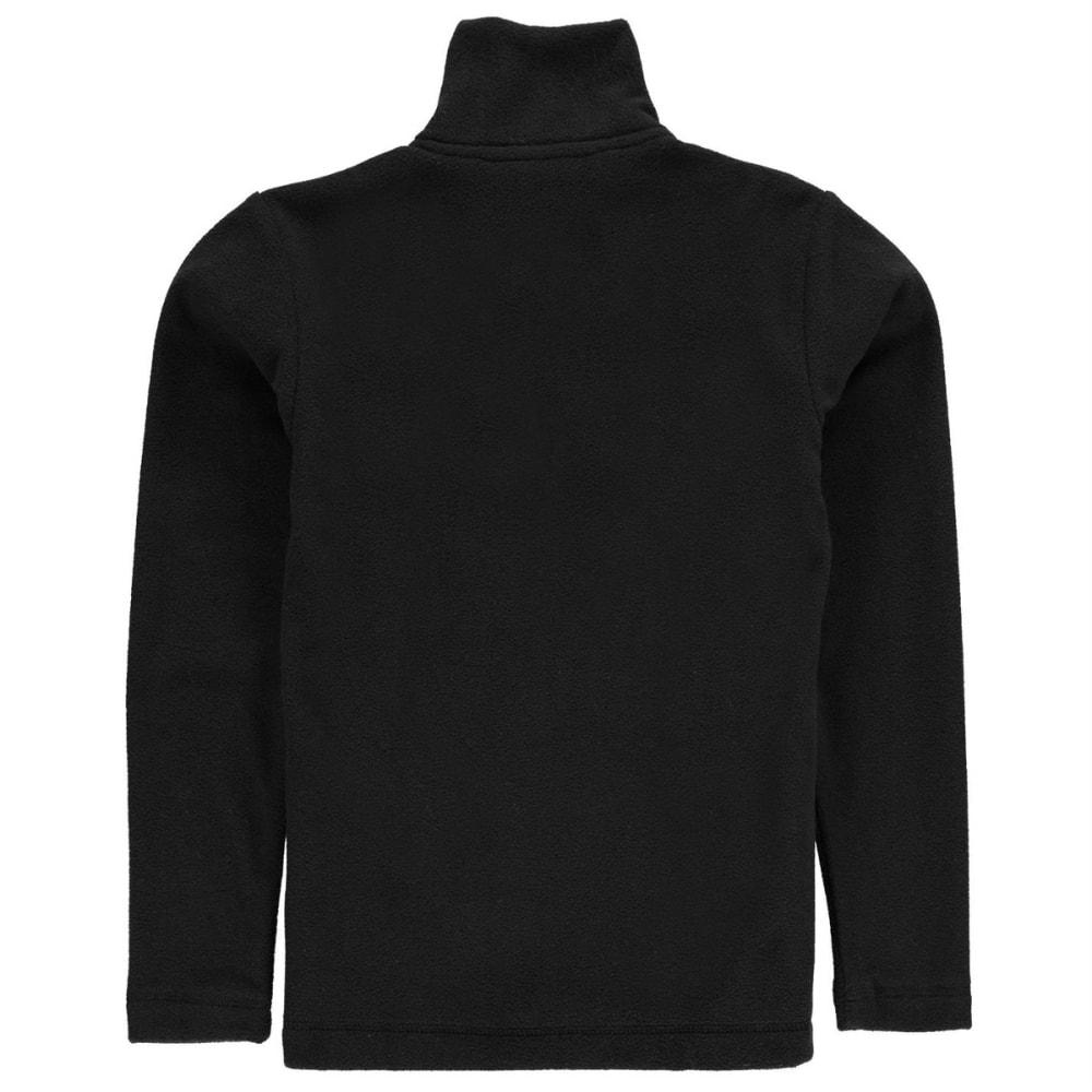 GELERT Boys' Ottawa Fleece Jacket - BLACK