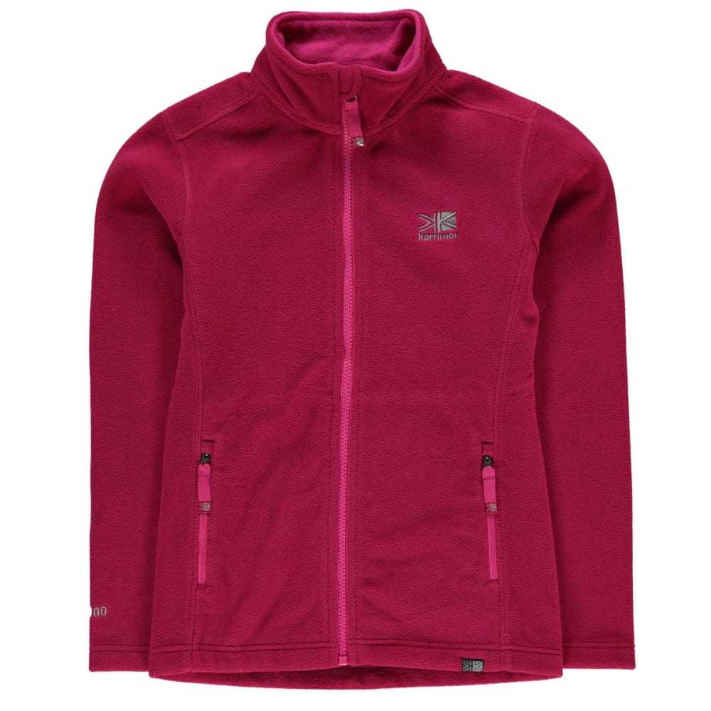 KARRIMOR Kids' Fleece Jacket - Night Pink