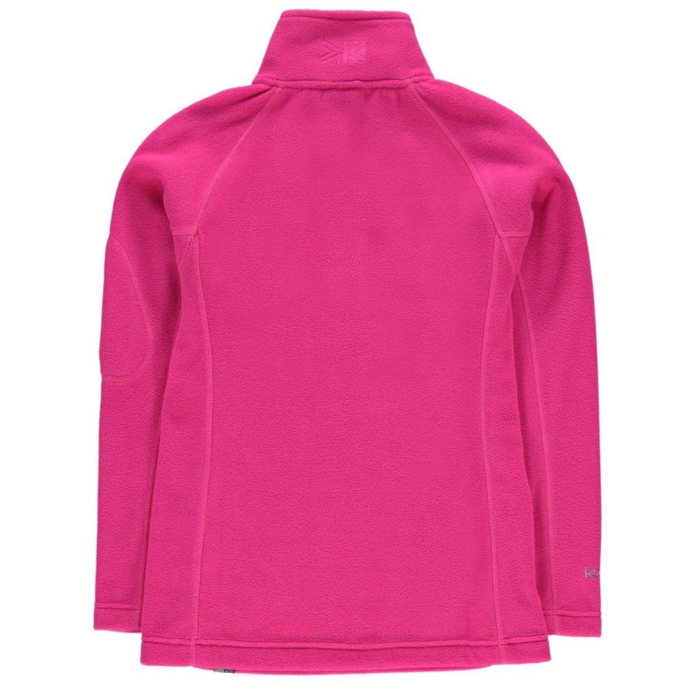 KARRIMOR Girls' Microfleece Pullover - PINK