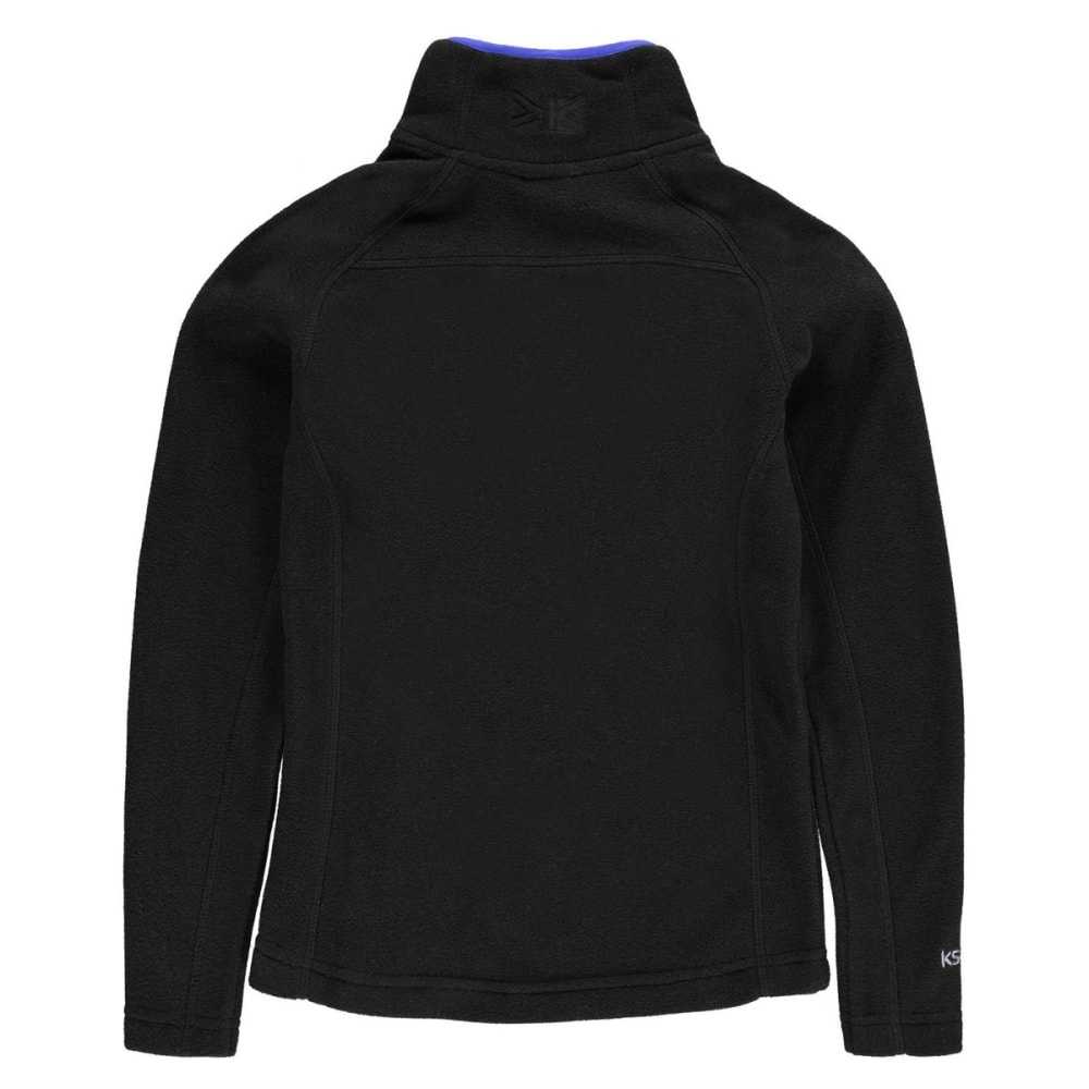 KARRIMOR Boys' Microfleece Pullover - BLACK
