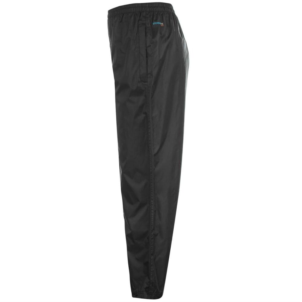 GELERT Boys' Packaway Pants - BLACK