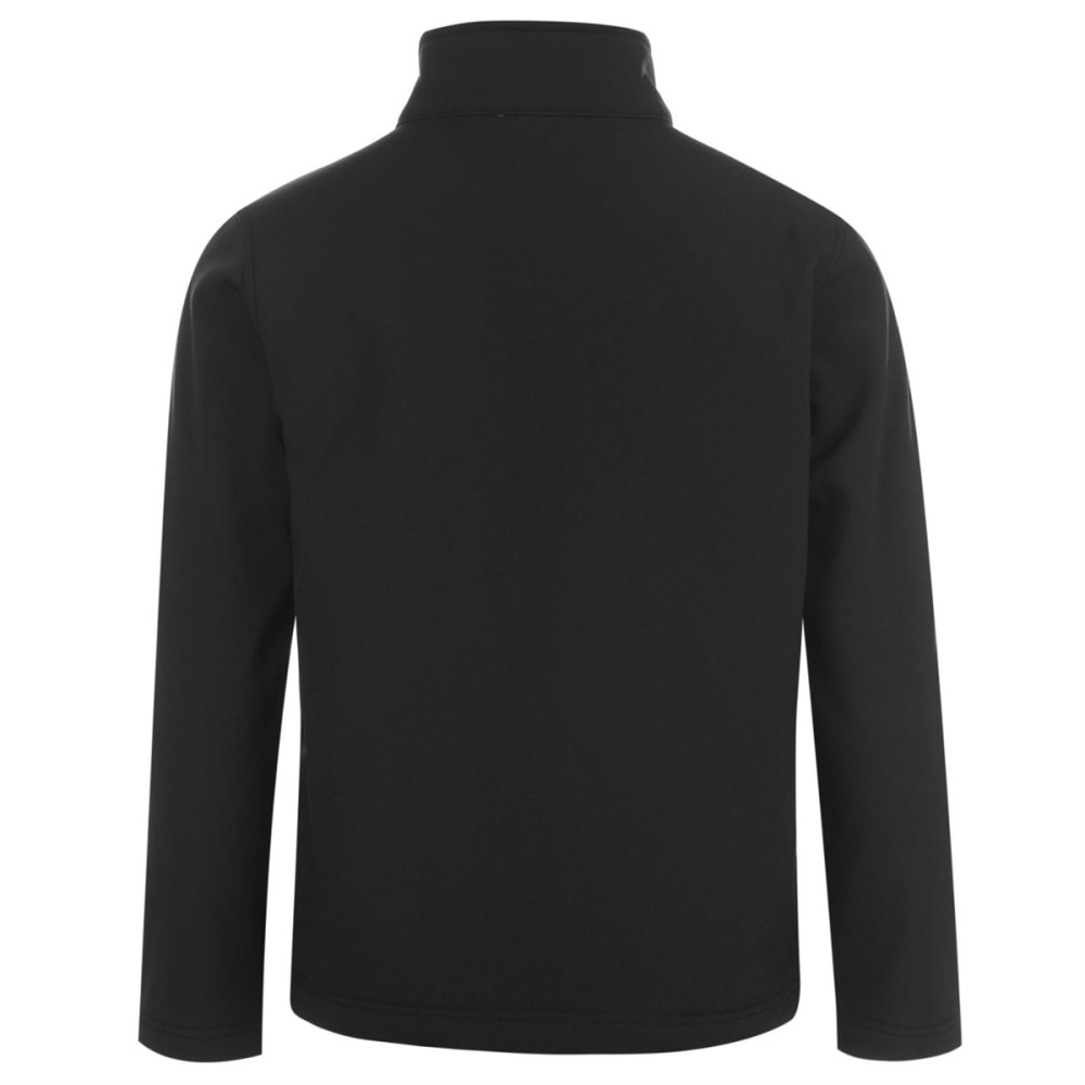 GELERT Boys' Soft Shell Jacket - BLACK