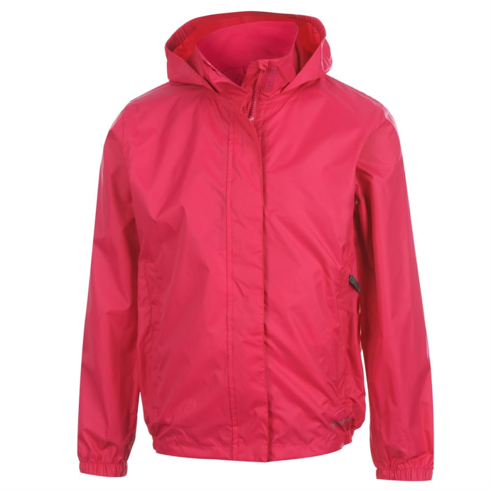 GELERT Girls' Packaway Jacket - PINK