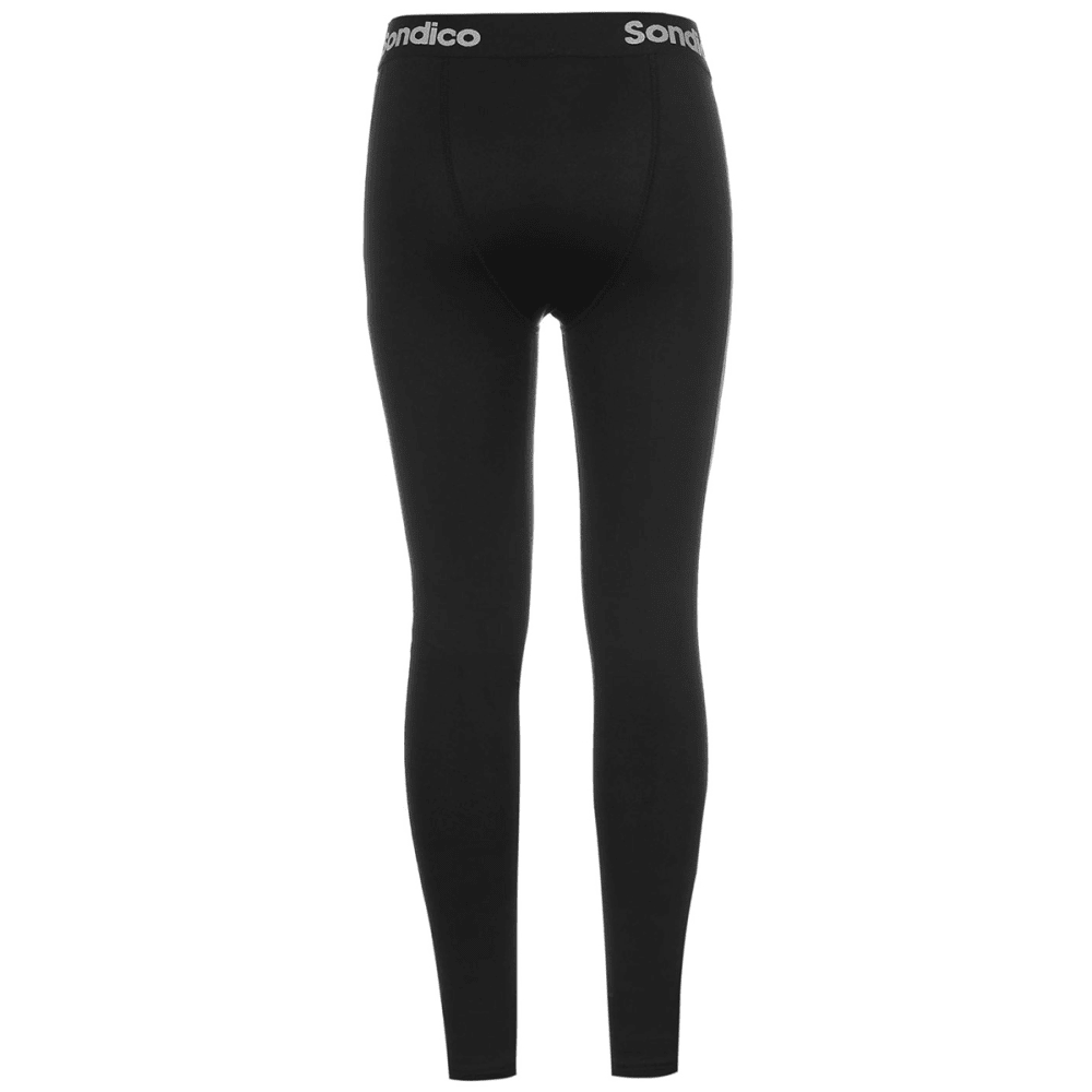 SONDICO Boys' Core Baselayer Tights - BLACK