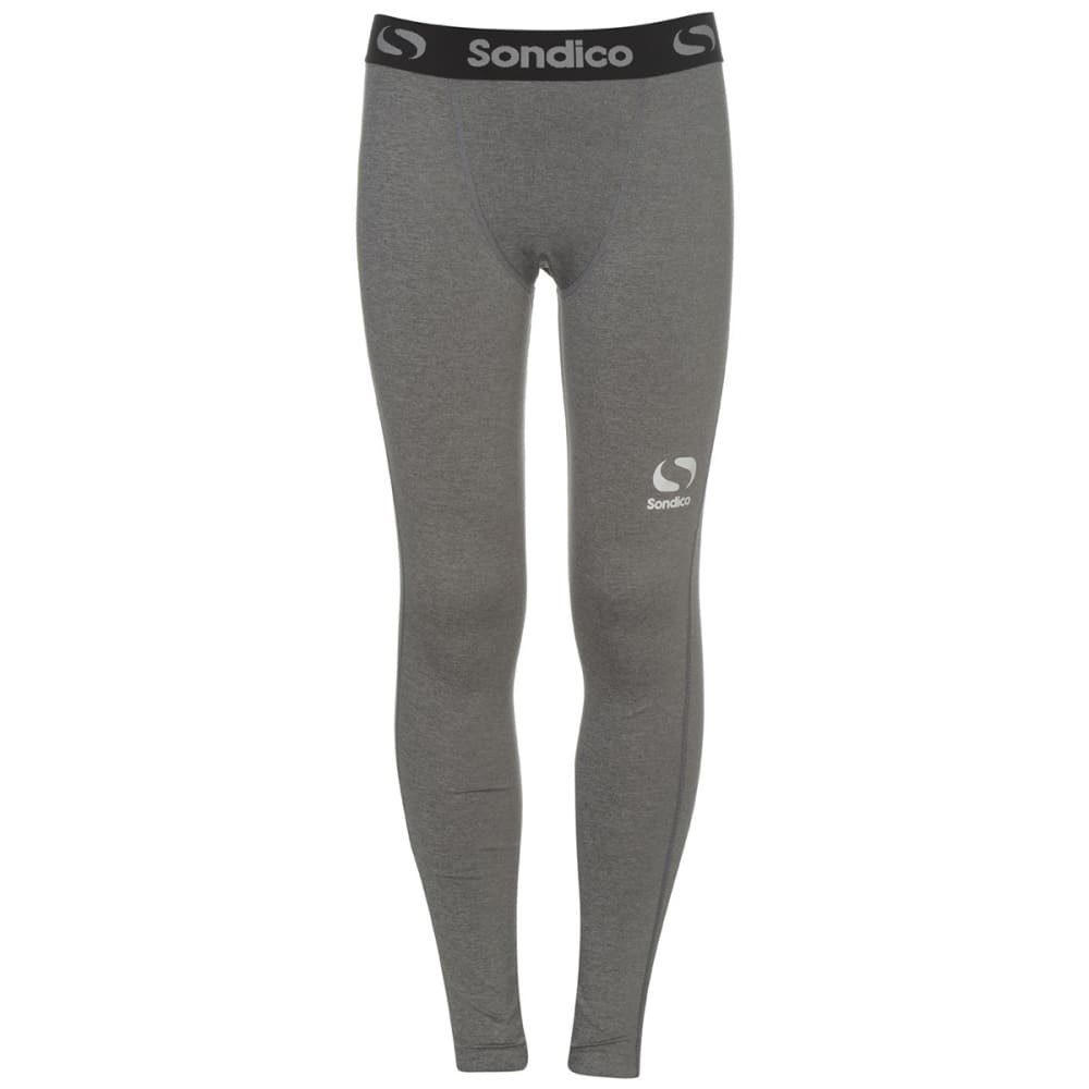 SONDICO Boys' Core Baselayer Tights - GREY MARL