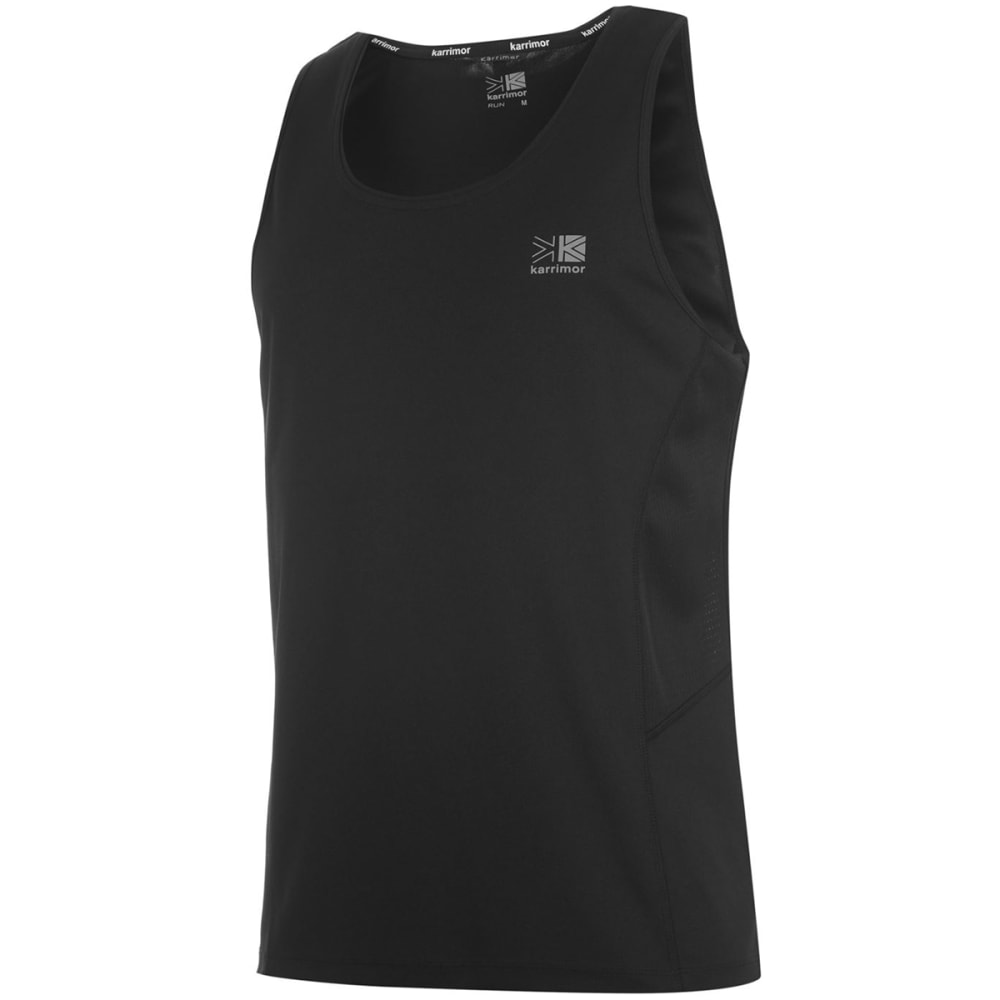 KARRIMOR Men's Run Tank Top - BLACK