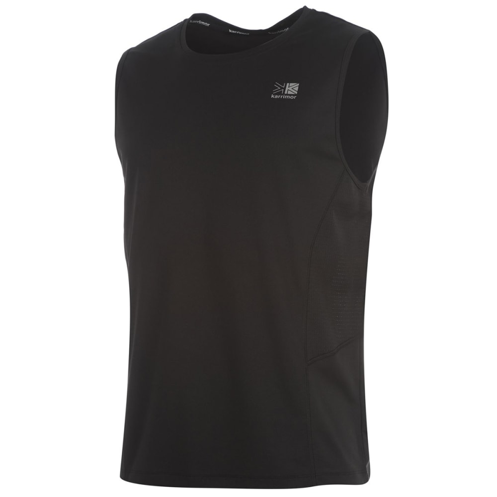 KARRIMOR Men's Sleeveless Tee - BLACK