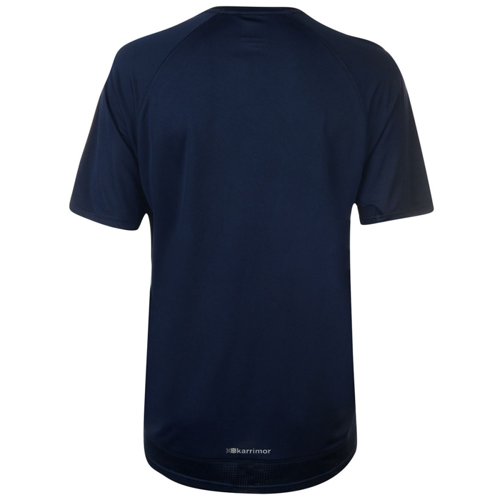 KARRIMOR Men's Run Short-Sleeve Tee - DEEP NAVY
