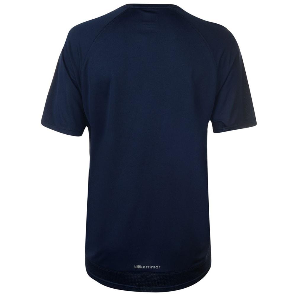 KARRIMOR Men's Run Short-Sleeve Tee - DEEP NAVY