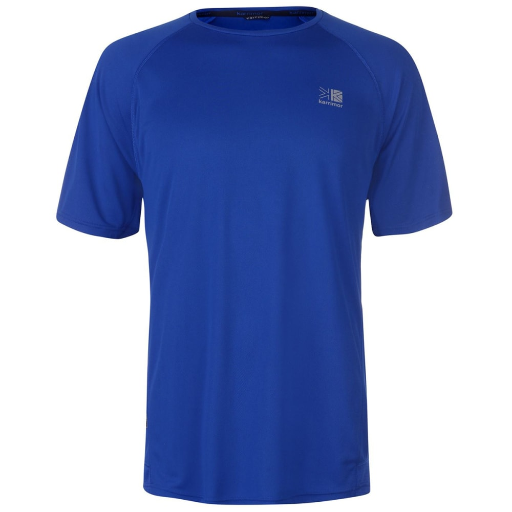 KARRIMOR Men's Run Short-Sleeve Tee - CLASSIC BLUE