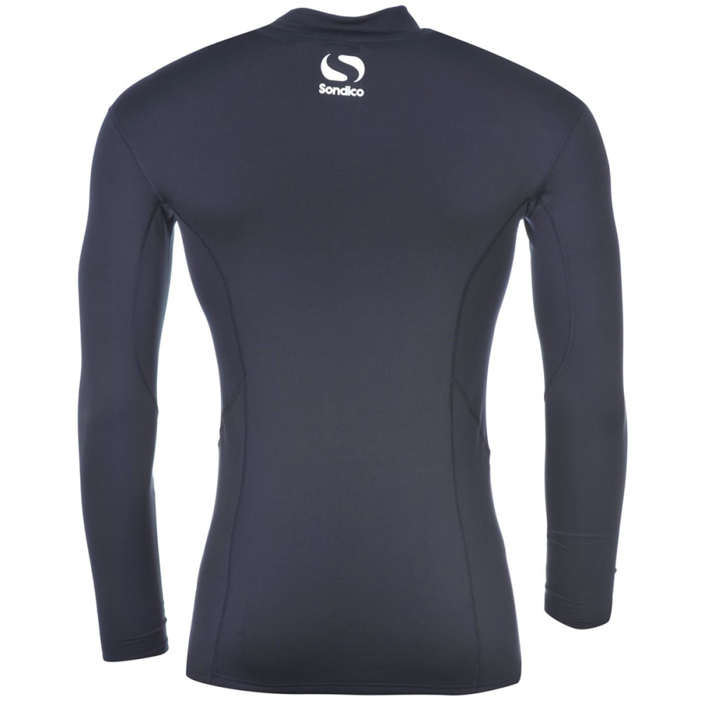 SONDICO Men's Base Mock Neck Long-Sleeve Top - NAVY