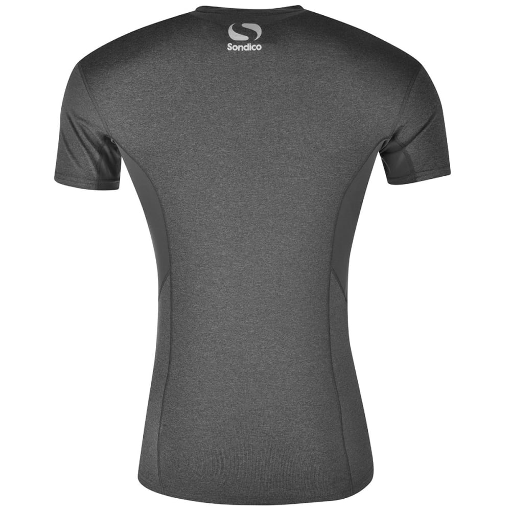 SONDICO Men's Core Base Short-Sleeve Top - GREY MARL