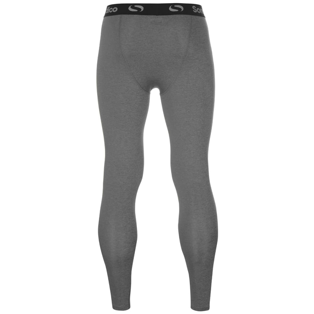 SONDICO Men's Core Tights - GREY MARL