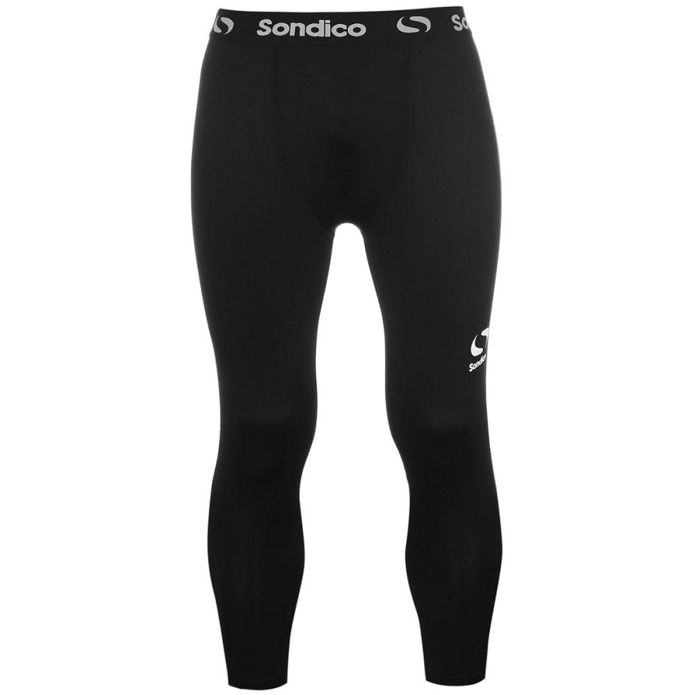 SONDICO Men's Core Three-Quarter Base Layer Tights S