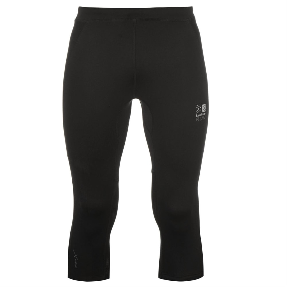 KARRIMOR Men's XLite Running Capri Tights - BLACK