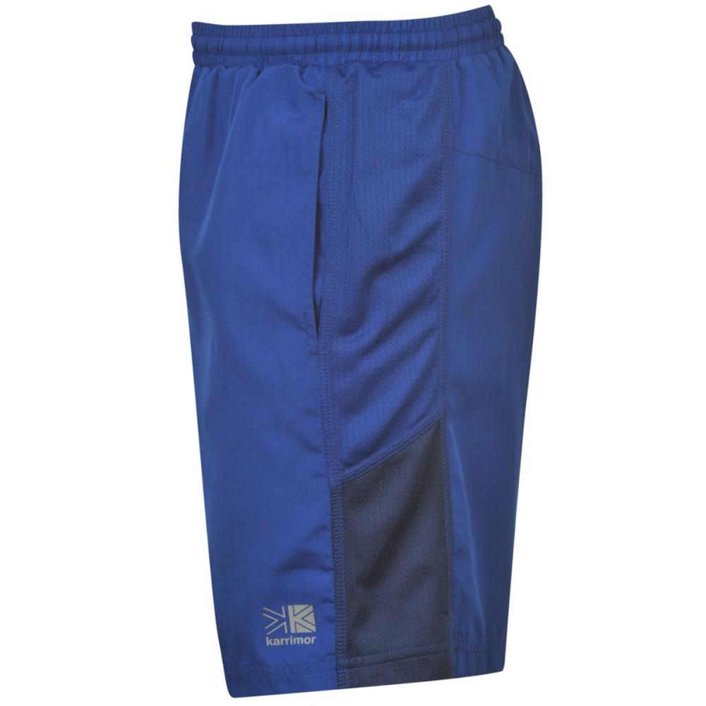 KARRIMOR Men's Long Running Shorts - CLASSIC BLUE