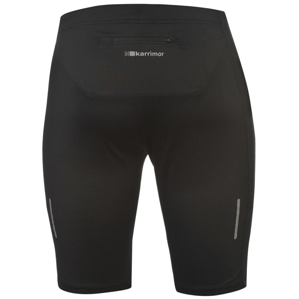 KARRIMOR Men's Short Running Tights - BLACK