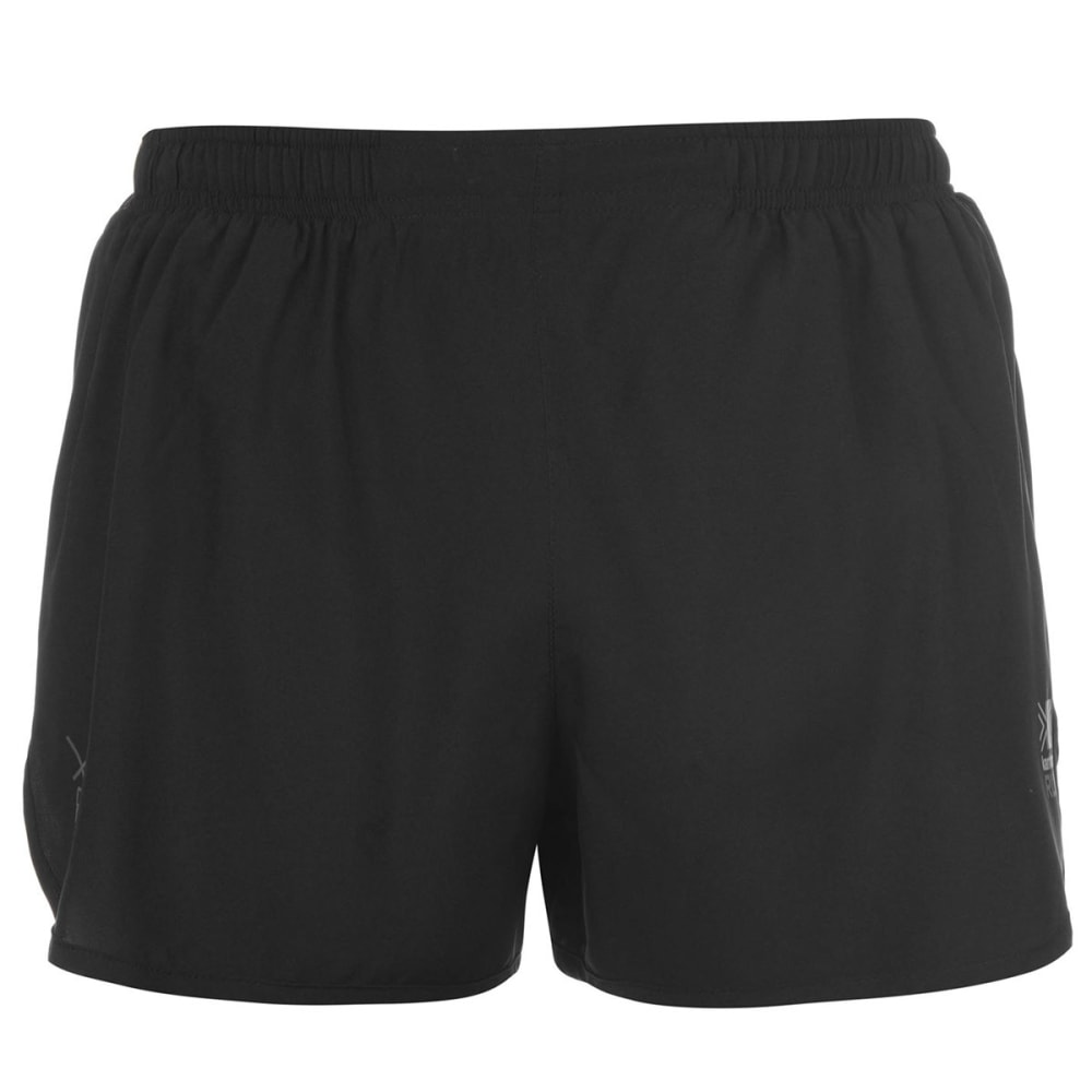 KARRIMOR Men's X 3 Inch Running Shorts - BLACK