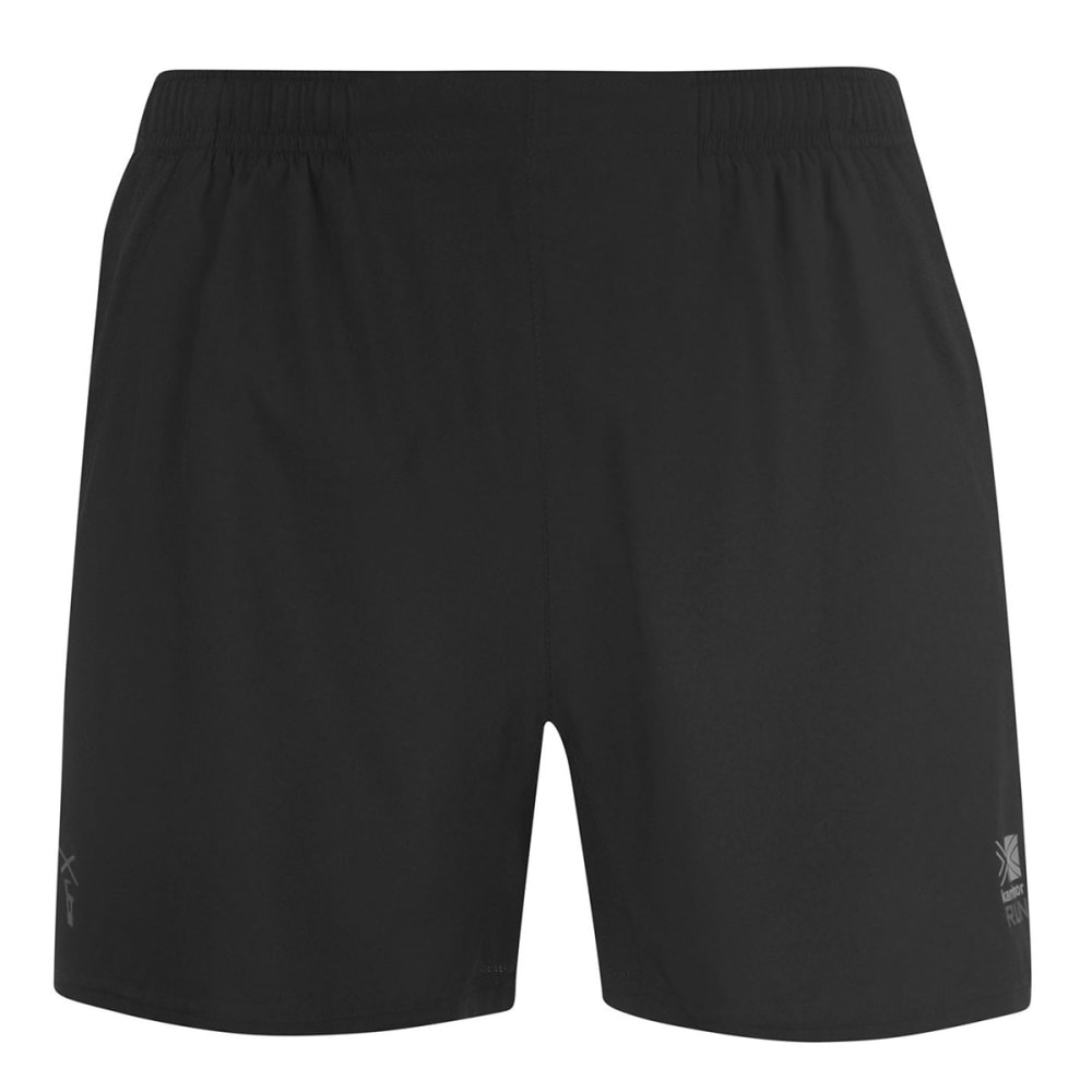 KARRIMOR Men's X 5 Inch Running Shorts - BLACK/BLACK