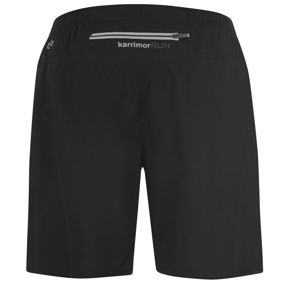 KARRIMOR Men's XLite 7 Inch Running Shorts - BLACK