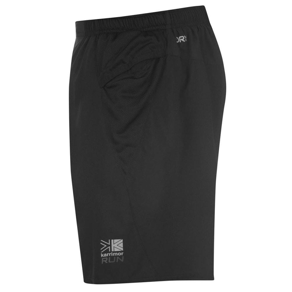 KARRIMOR Men's XLite 7 Inch Shorts - BLACK