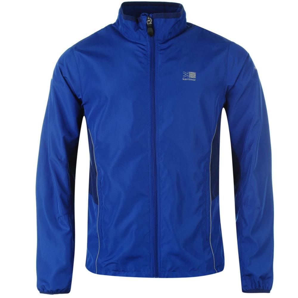 KARRIMOR Men's Running Jacket - BLUE/BLUE
