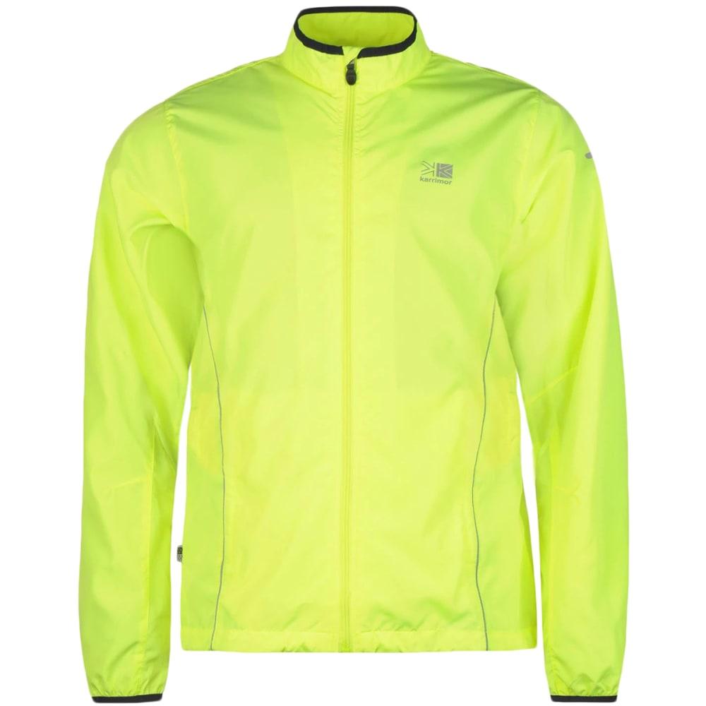 KARRIMOR Men's Running Jacket - Fluo Yellow