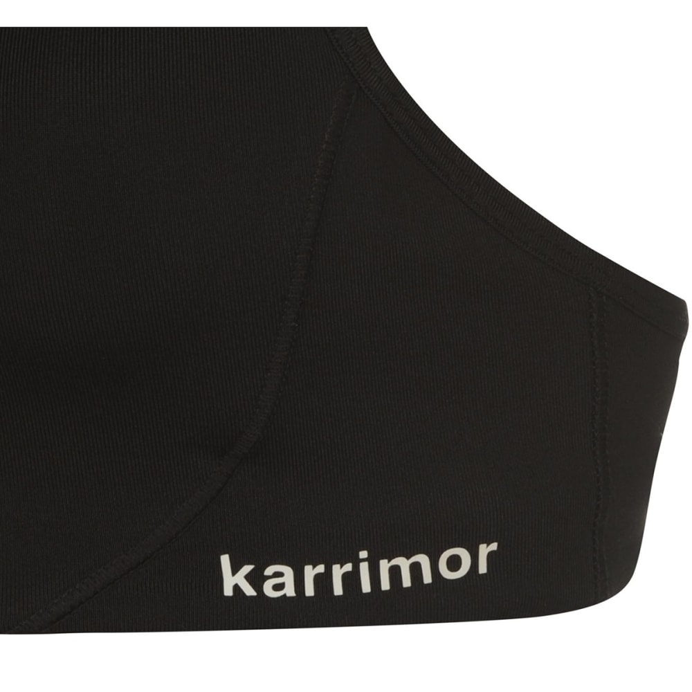 KARRIMOR Women's Tempo Sports Bra - BLACK