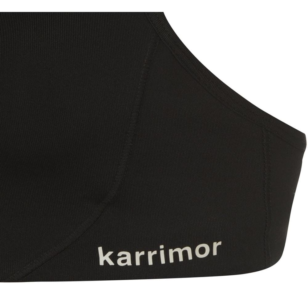 KARRIMOR Women's Tempo Sports Bra - BLACK