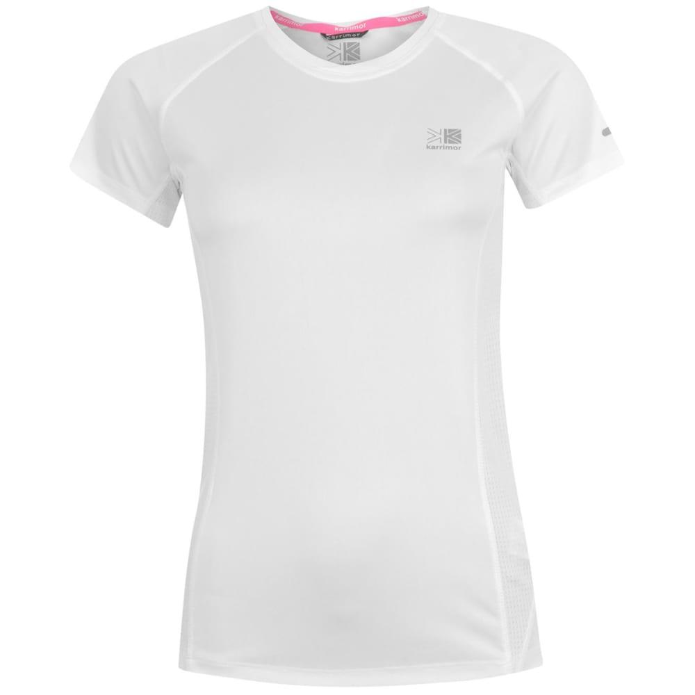 KARRIMOR Women's Run Short-Sleeve Tee - WHITE