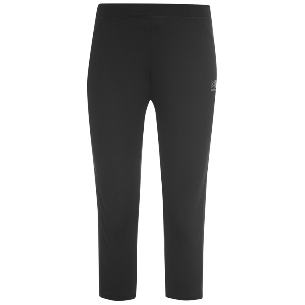 KARRIMOR Women's Run Capri Tights - BLACK