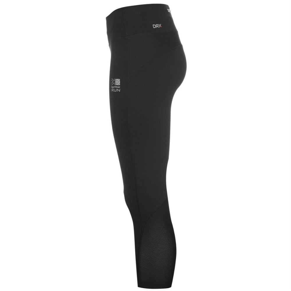KARRIMOR Women's X Running Capri Pants - BLACK