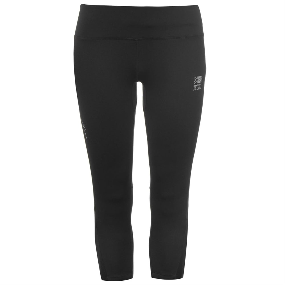 KARRIMOR Women's X Running Capri Pants - BLACK