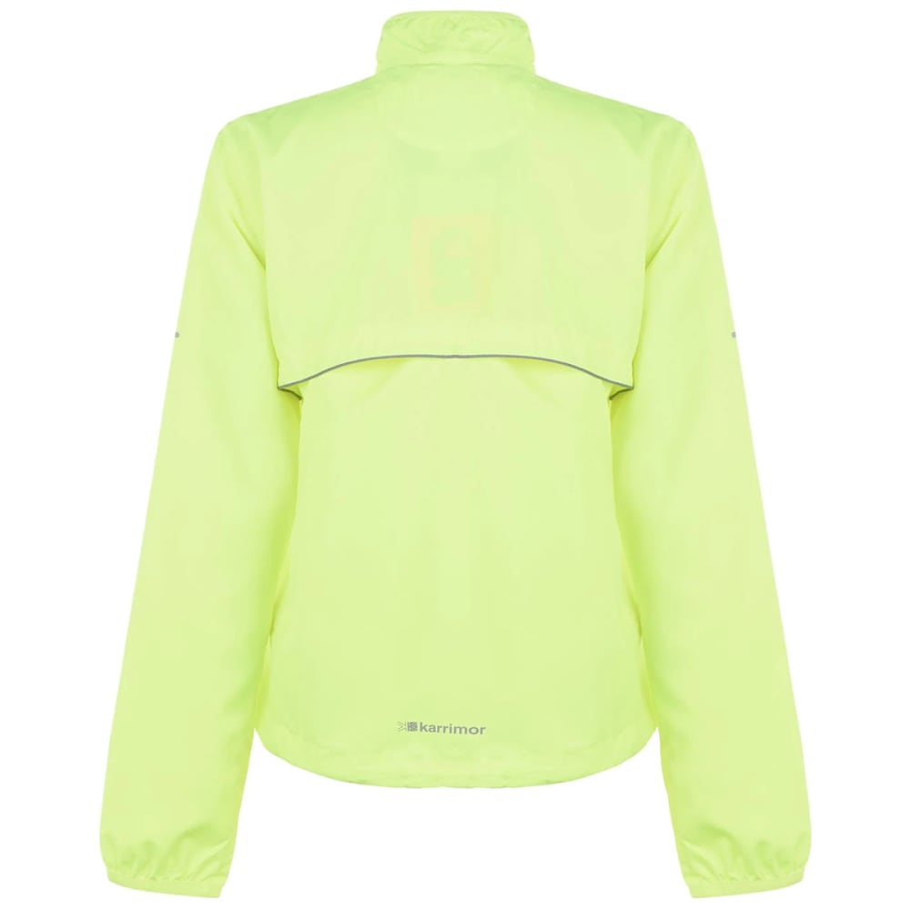 KARRIMOR Women's Running Jacket - Fluo Yellow