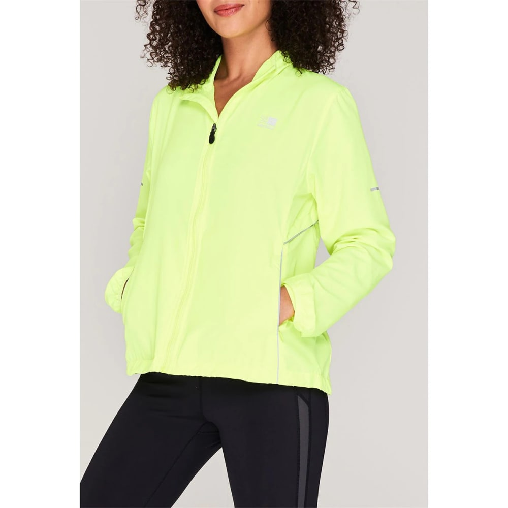 KARRIMOR Women's Running Jacket - Fluo Yellow