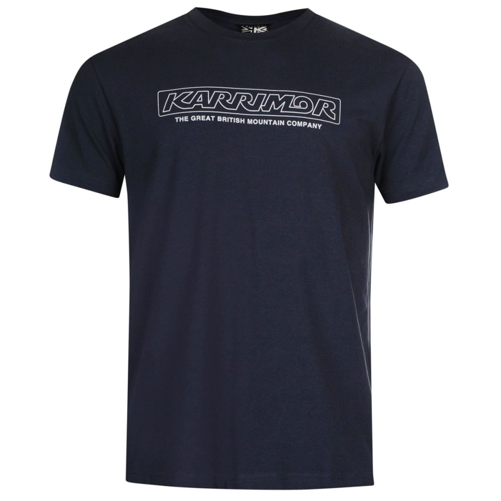 KARRIMOR Men's Organic Graphic Tee - BLUE STEEL