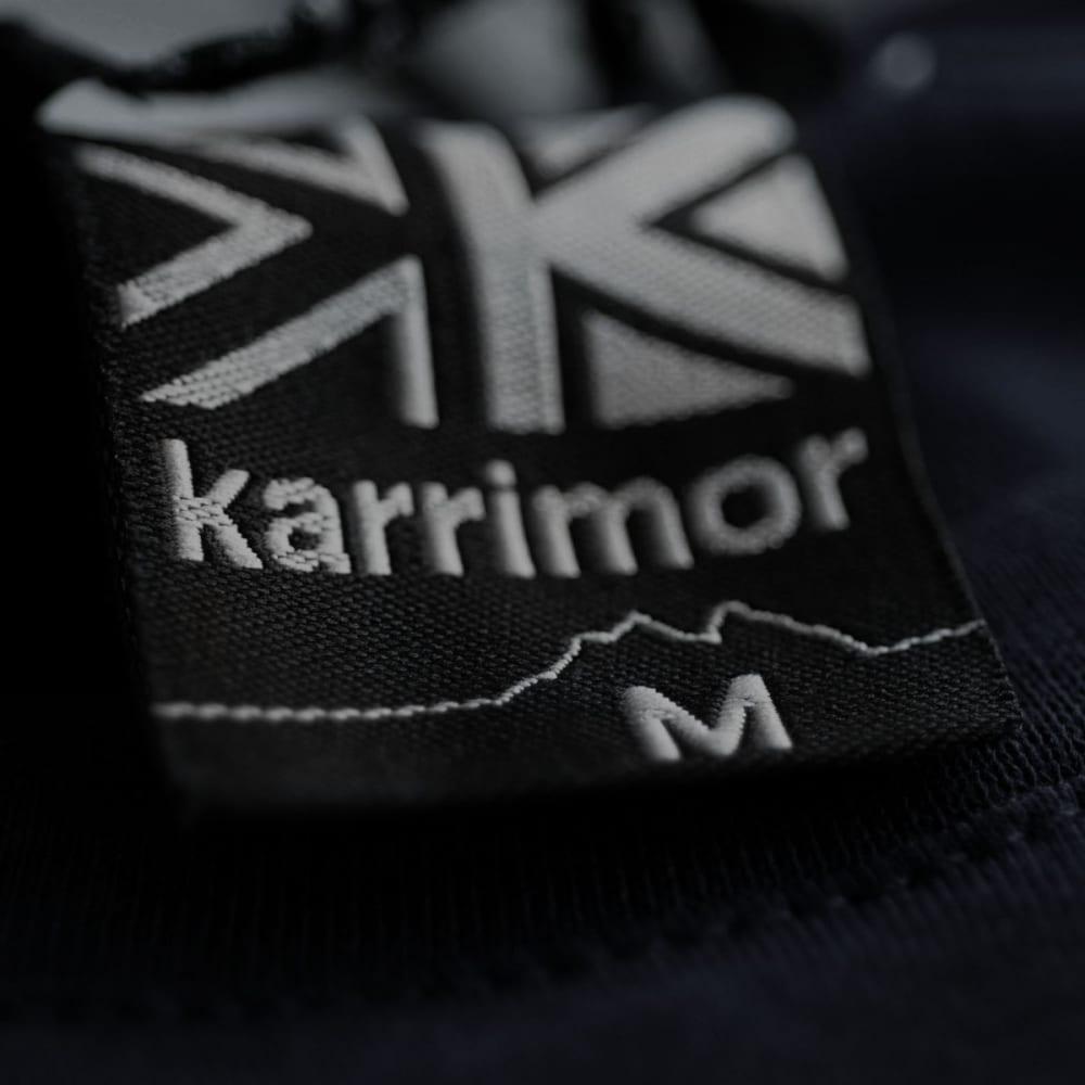 KARRIMOR Men's Organic Graphic Tee - DENIM BLUE