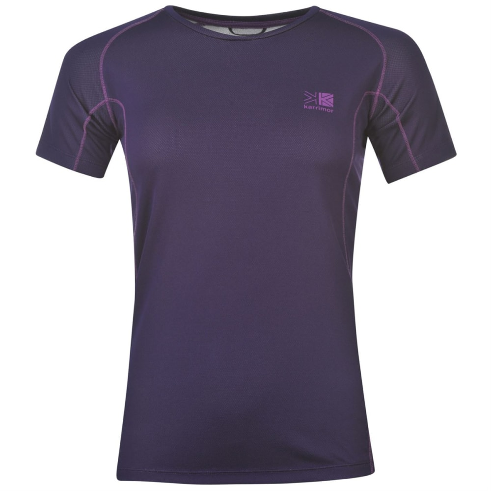 KARRIMOR Women's Technical Short-Sleeve Tee - ROYAL PURPLE