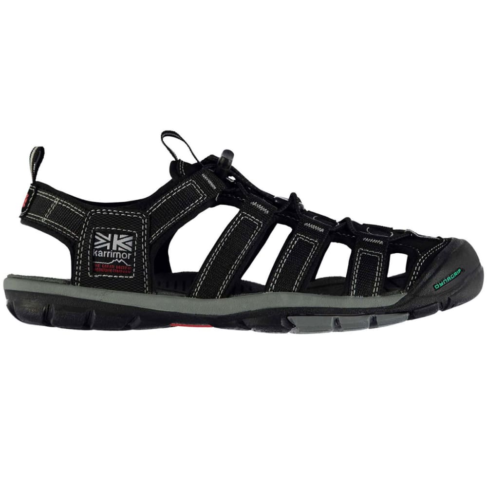 KARRIMOR Men's Ithaca Hiking Sandals, Black - BLACK