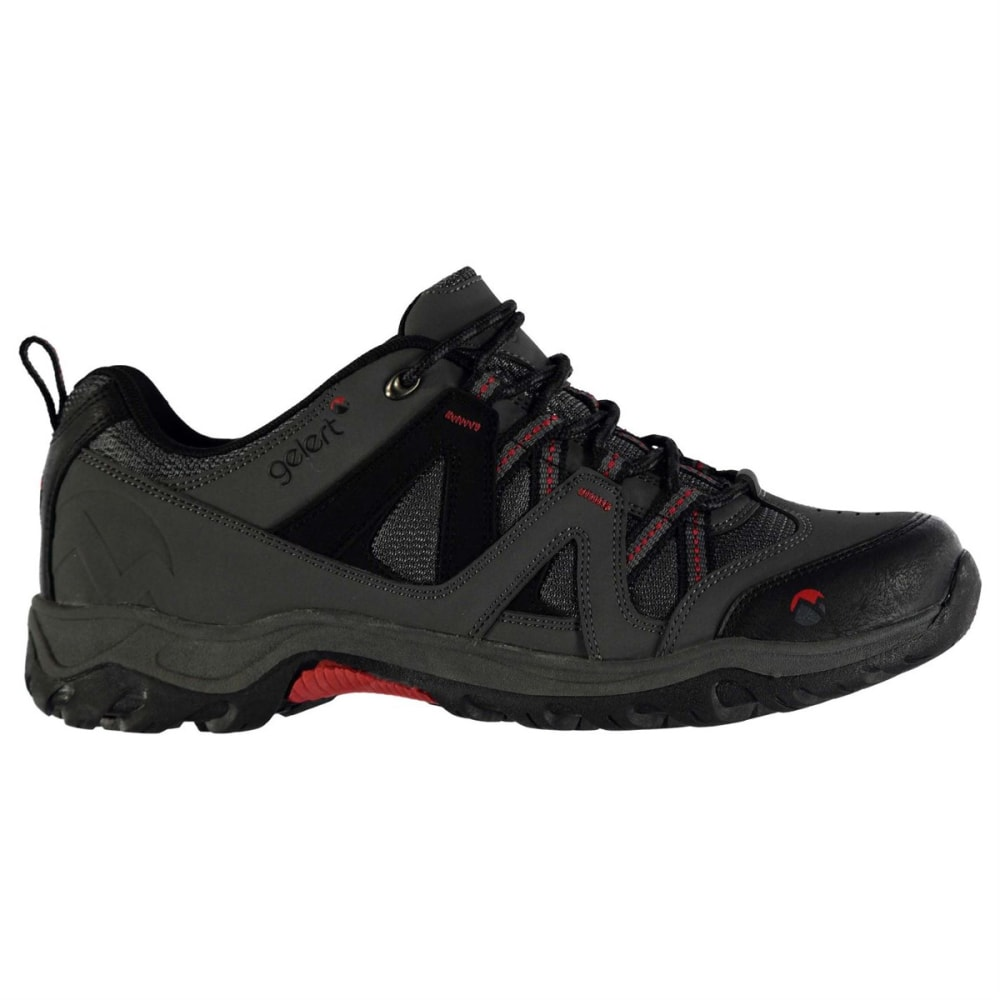 GELERT Men's Ottawa Low Hiking Shoes - CHARCOAL