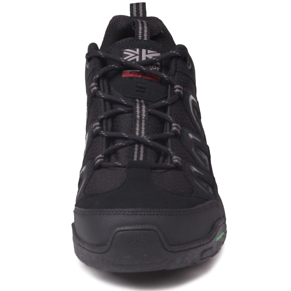 KARRIMOR Men's Summit Low Hiking Shoes - BLACK