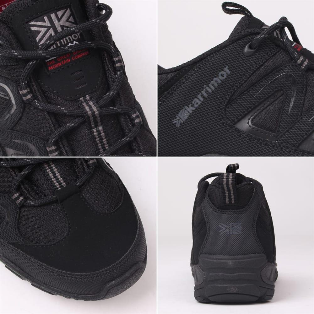 KARRIMOR Men's Summit Low Hiking Shoes - BLACK