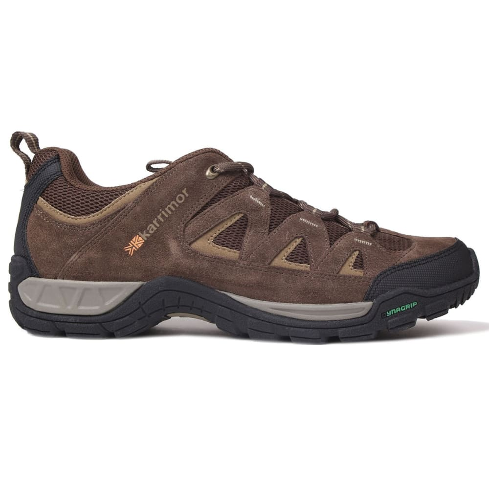 KARRIMOR Men's Summit Low Hiking Shoes - BROWN