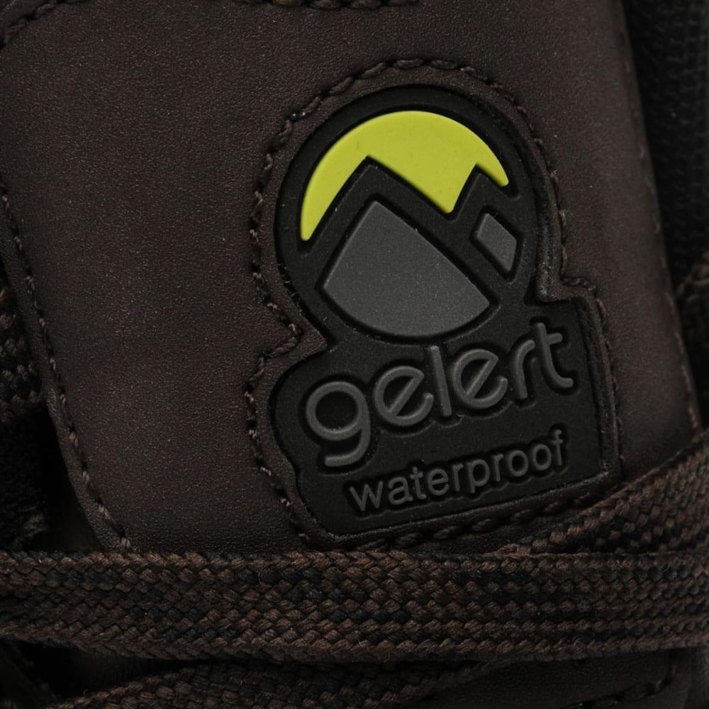 GELERT Men's Atlantis Low Waterproof Hiking Boots - BROWN