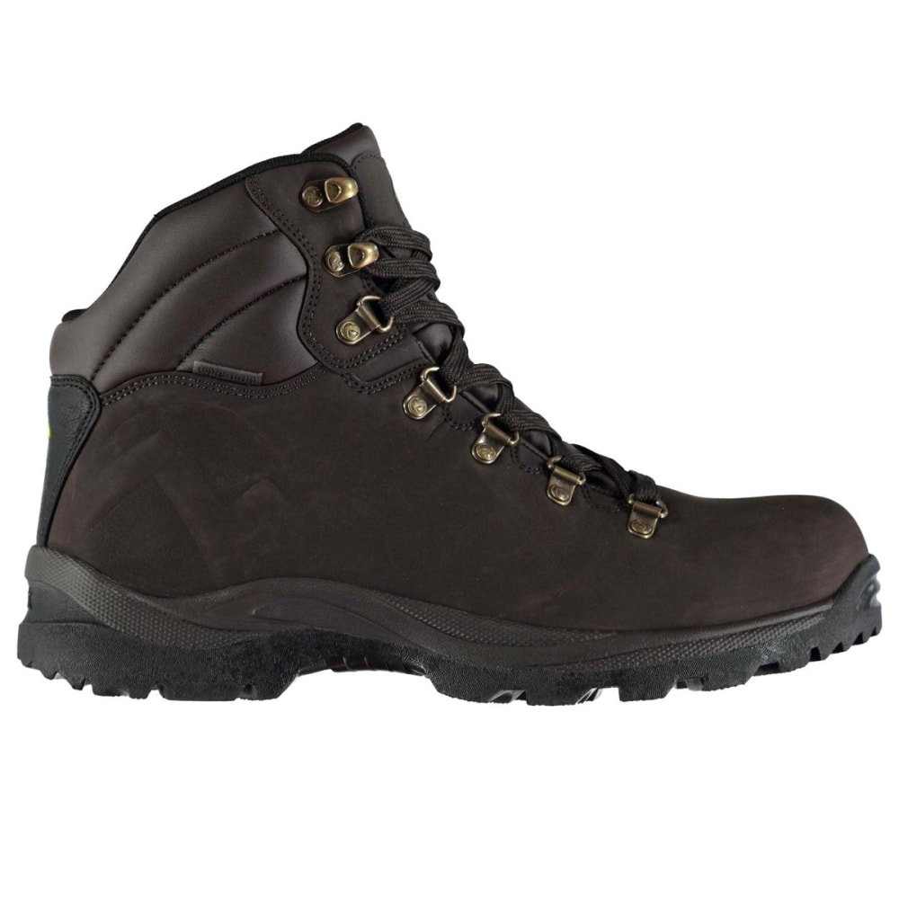 GELERT Men's Atlantis Low Waterproof Hiking Boots - BROWN