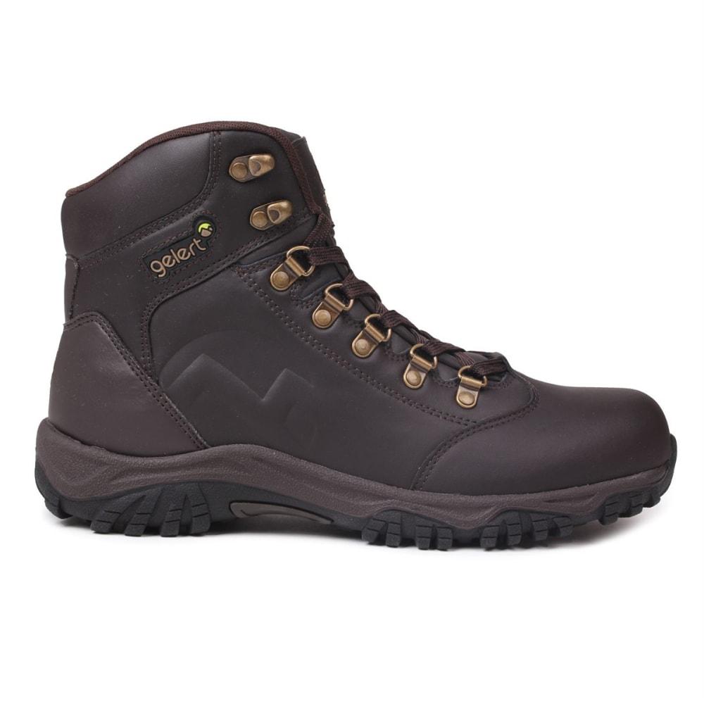 Gelert Men's Leather Mid Hiking Boots - Brown