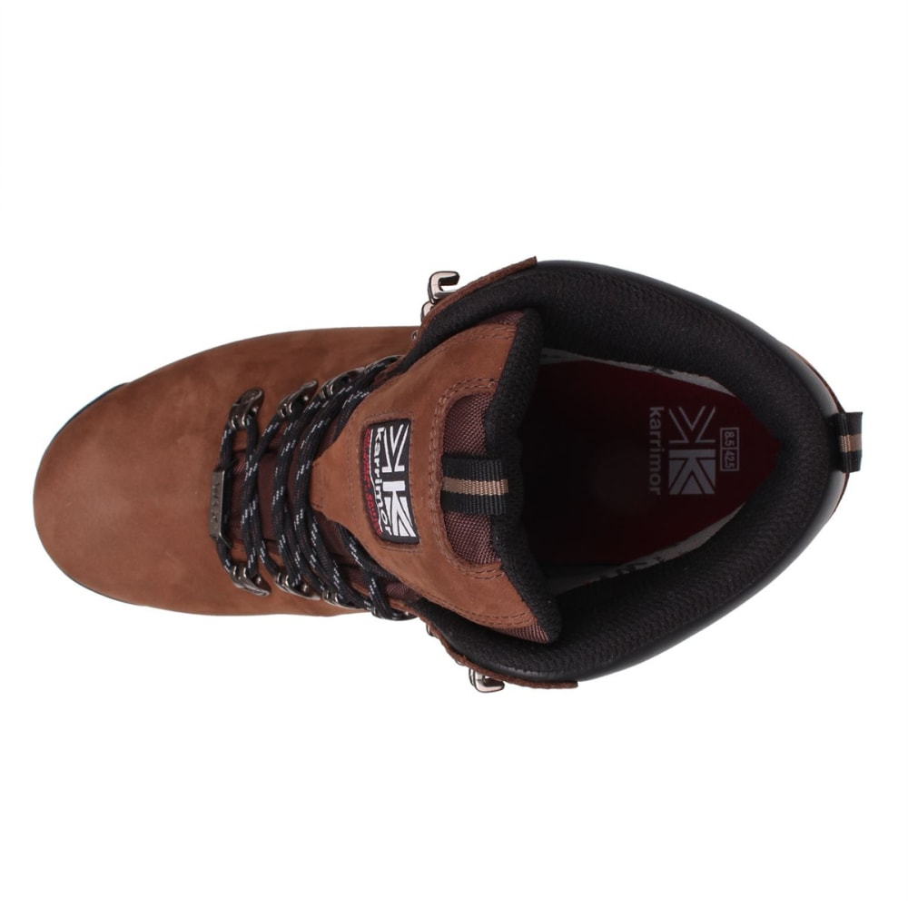 KARRIMOR Men's KSB Kinder Mid Waterproof Hiking Boots - BROWN