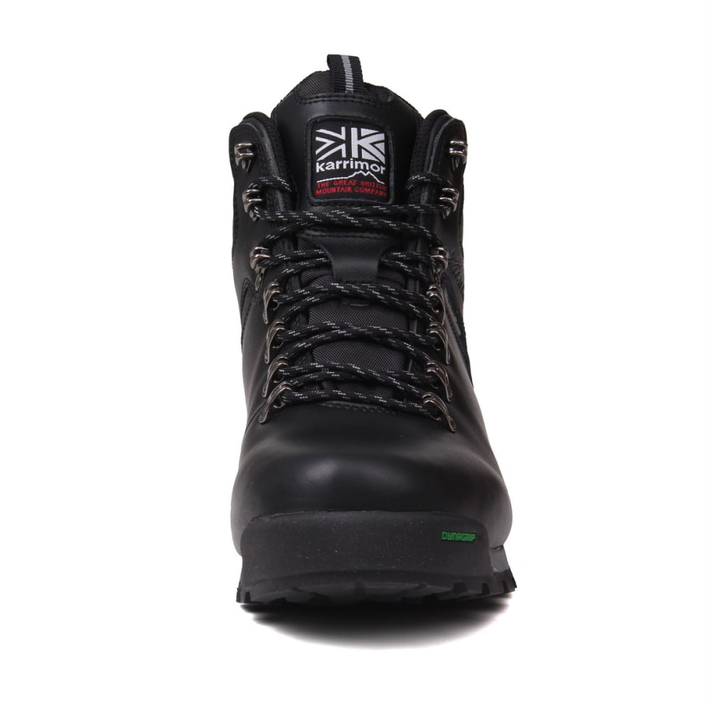 KARRIMOR Men's Munro Mid Waterproof Hiking Boots - BLACK